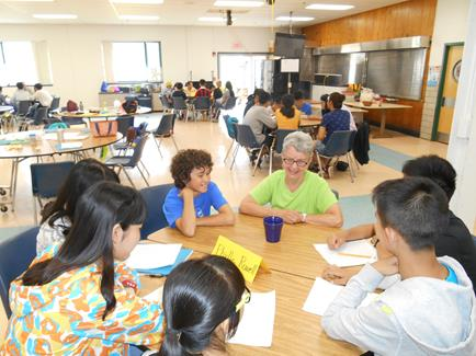 Students prepared questions and interviewed area residents about their lives